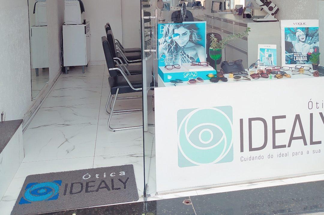 Interior da nossa loja da Ótica Idealy 3