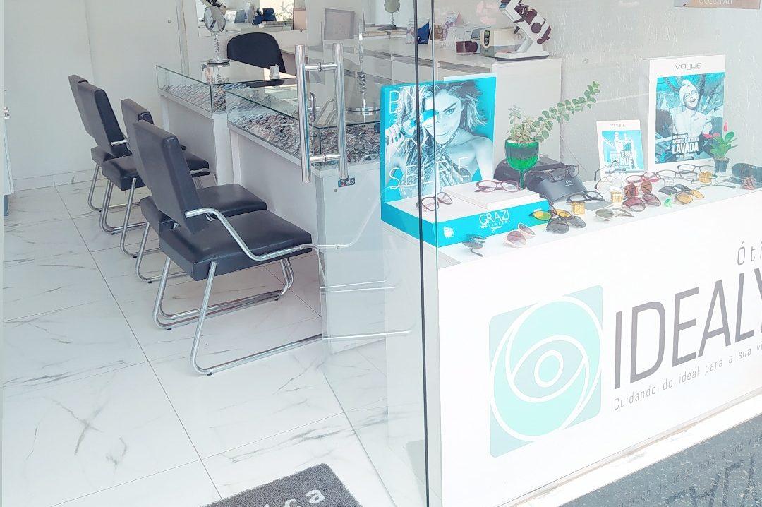 Interior da nossa loja da Ótica Idealy 1