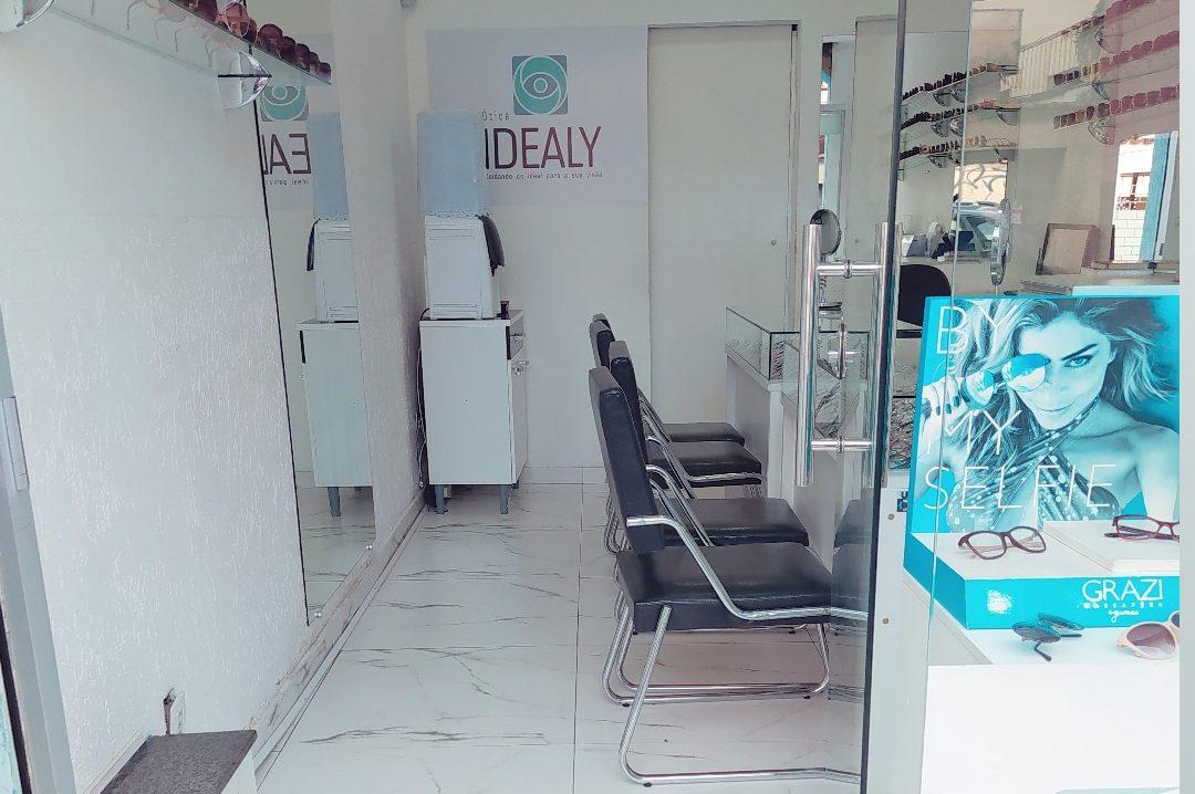 Interior da nossa loja da Ótica Idealy 4
